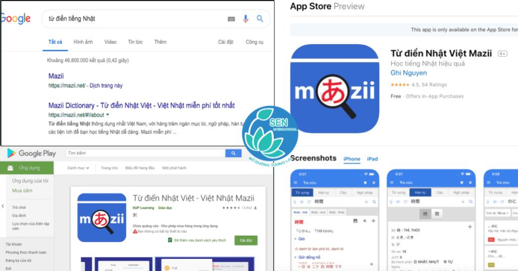 Giới thiệu và hướng dẫn sử dụng từ điển tiếng Nhật Mazii