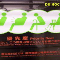 Ghế ưu tiên và những quy tắc cần biết khi đi tàu điện ở Nhật