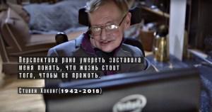 Новичок, посмертное донорство, Олег Табаков, Стивен Хокинг