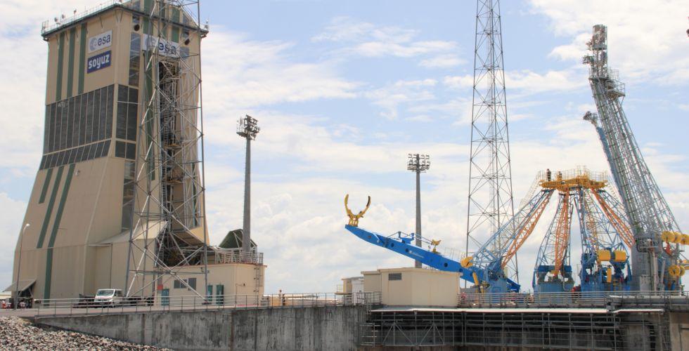 Специалисты ЦЭНКИ завершают работы в Гвианском космическом центре