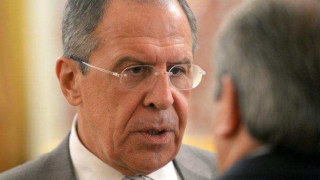 Сергей Лавров: «Нас могут не устроить ссылки на «независимость» юстиции»