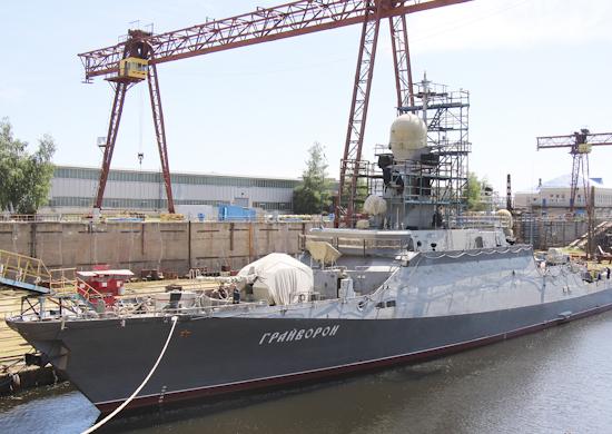 Ракетный корабль «Грайворон» впервые вышел в море для испытаний