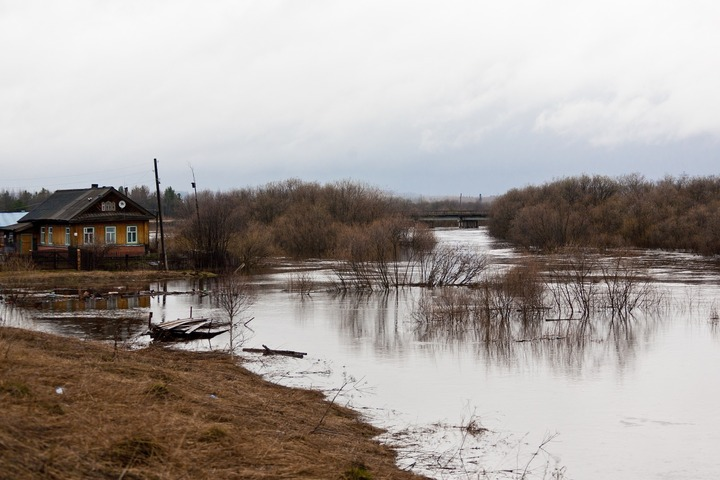Уровень Амура у Комсомольска достиг 704 сантиметров