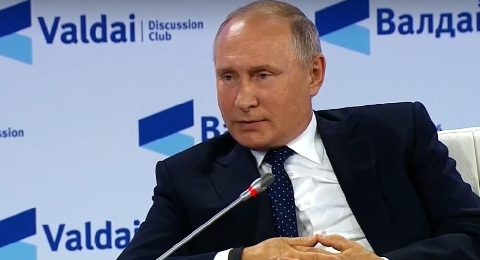 Путин примет участие в заседании клуба «Валдай» дистанционно