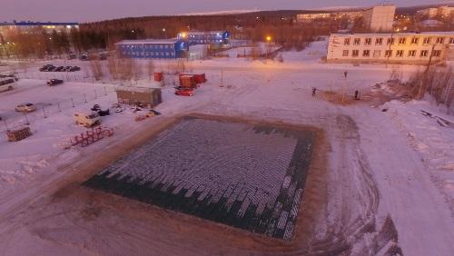 В Мурманской области построили вертолетную площадку для санавиации