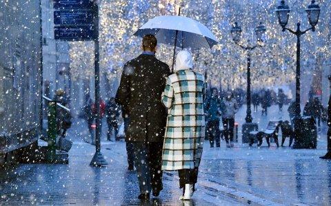 В Москве 21 февраля ожидается семь градусов мороза и снег