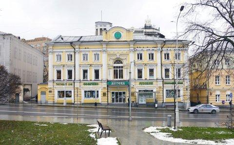 В Москве здание на Пречистенке признали памятником архитектуры