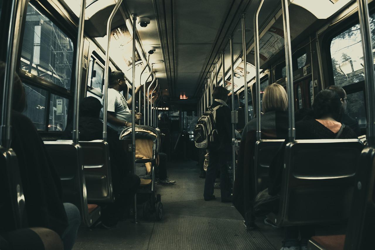 В Красноярске запустят ночные автобусы на Рождество