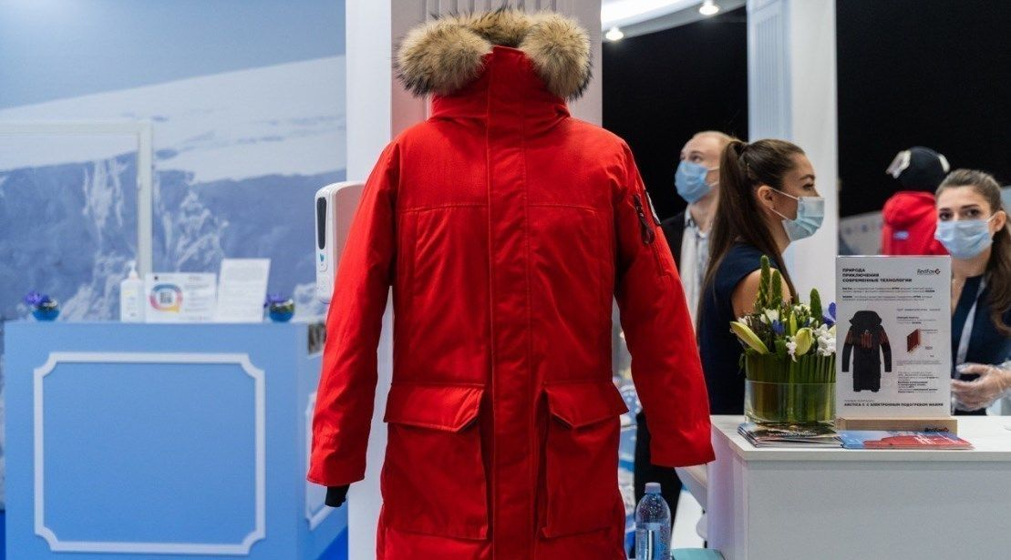 В Петербурге изобрели «умную» куртку для 70-градусных морозов