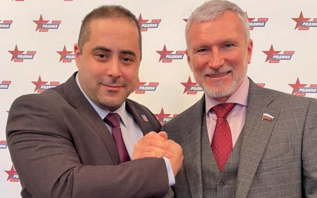 Алексей Журавлёв встретился с лидером партии «Сербские правые»