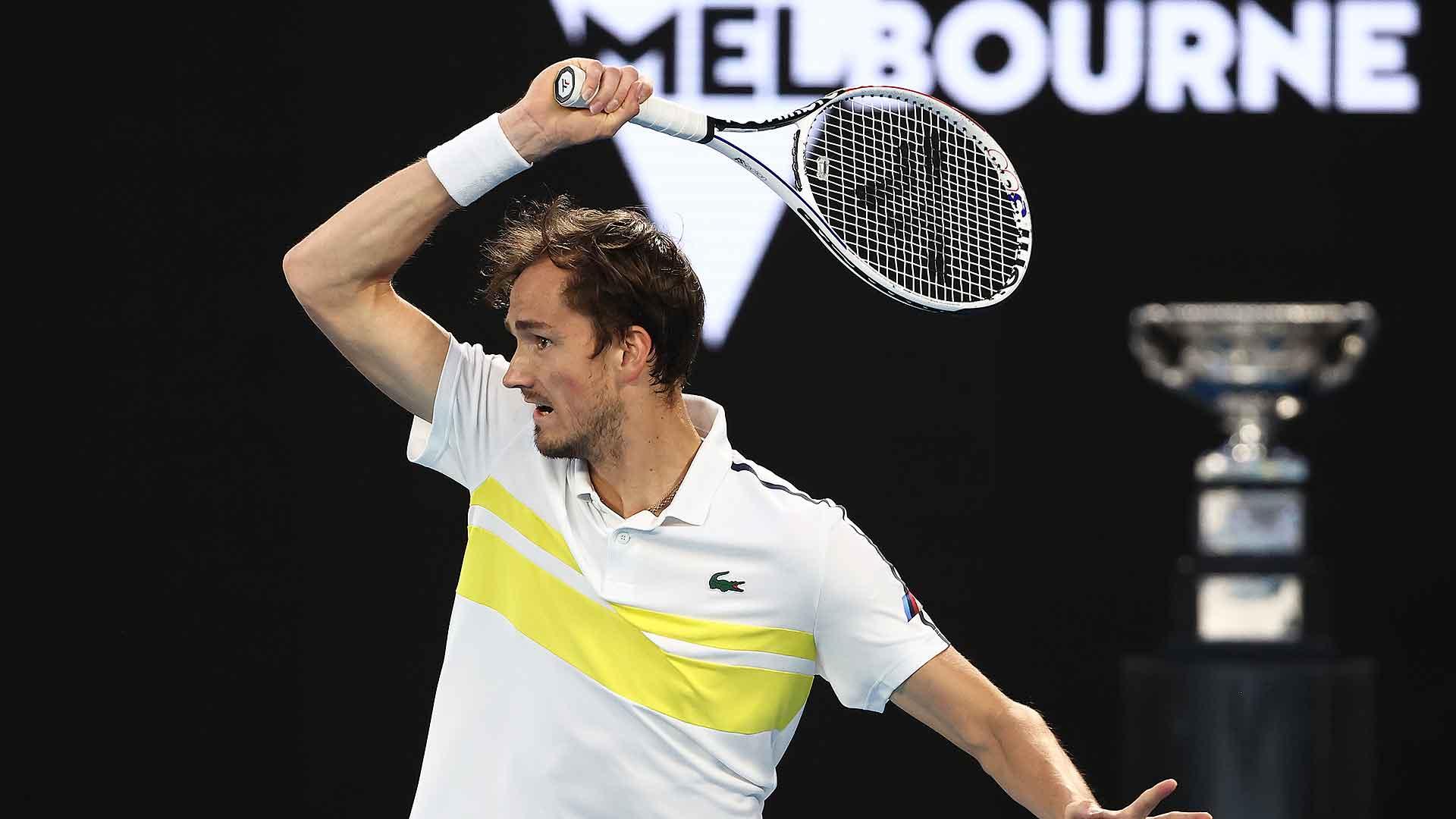 Российский теннисист Даниил Медведев признан третьей ракеткой мира