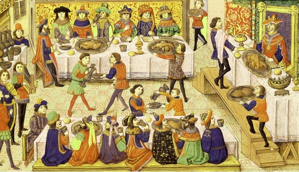 Средневековые пиры. Какие они?