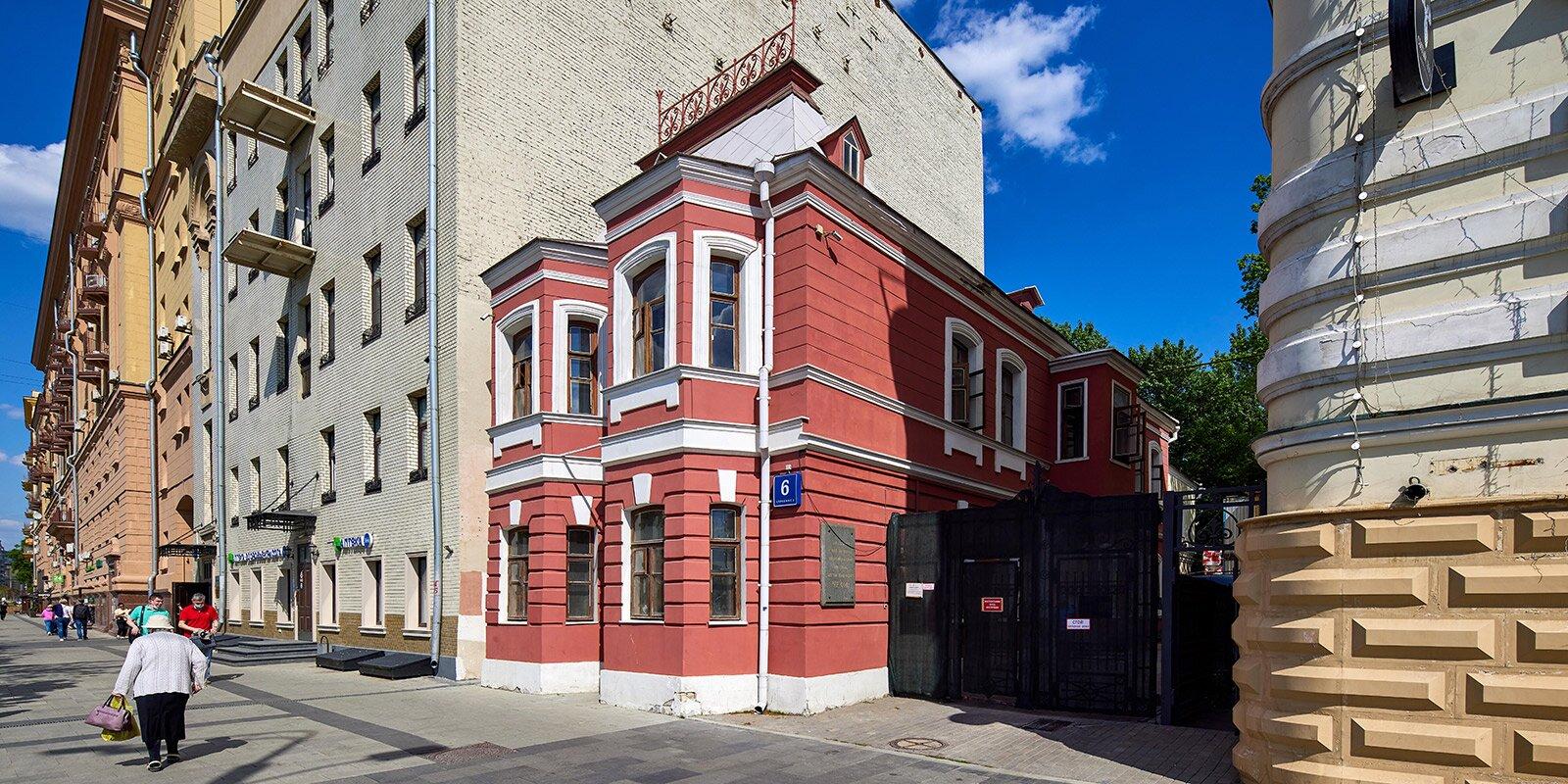 В столице отреставрируют дом-музей Чехова