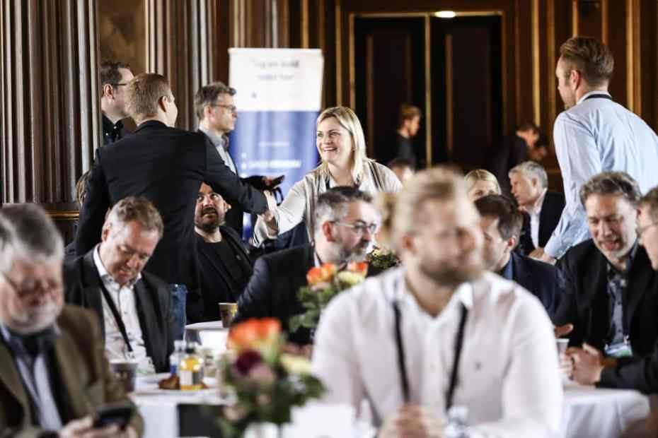 sensative to attend investor event copenhagen