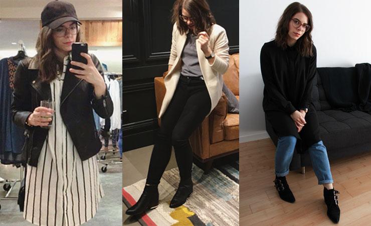 l'évolution de mon style