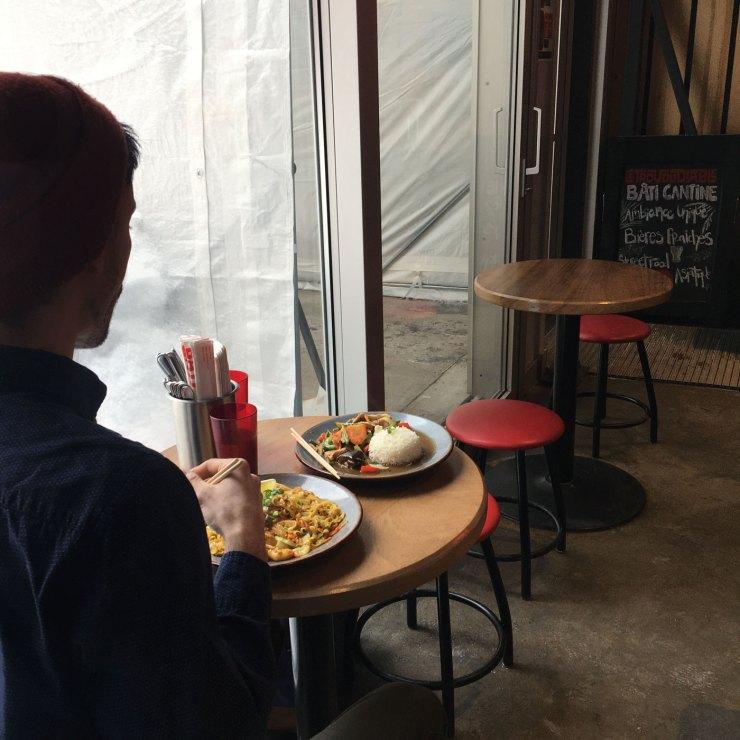 Tables Cantine Bati