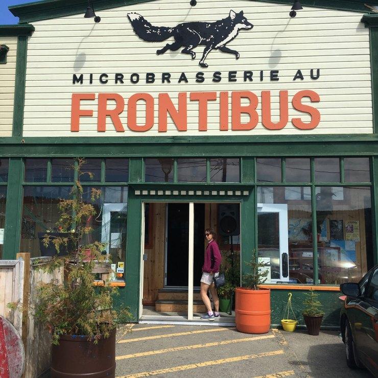 Microbrasseries de la Gaspésie au Frontibus