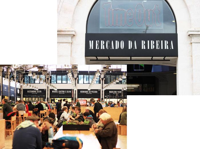 mercado Ribeira Lisbonne