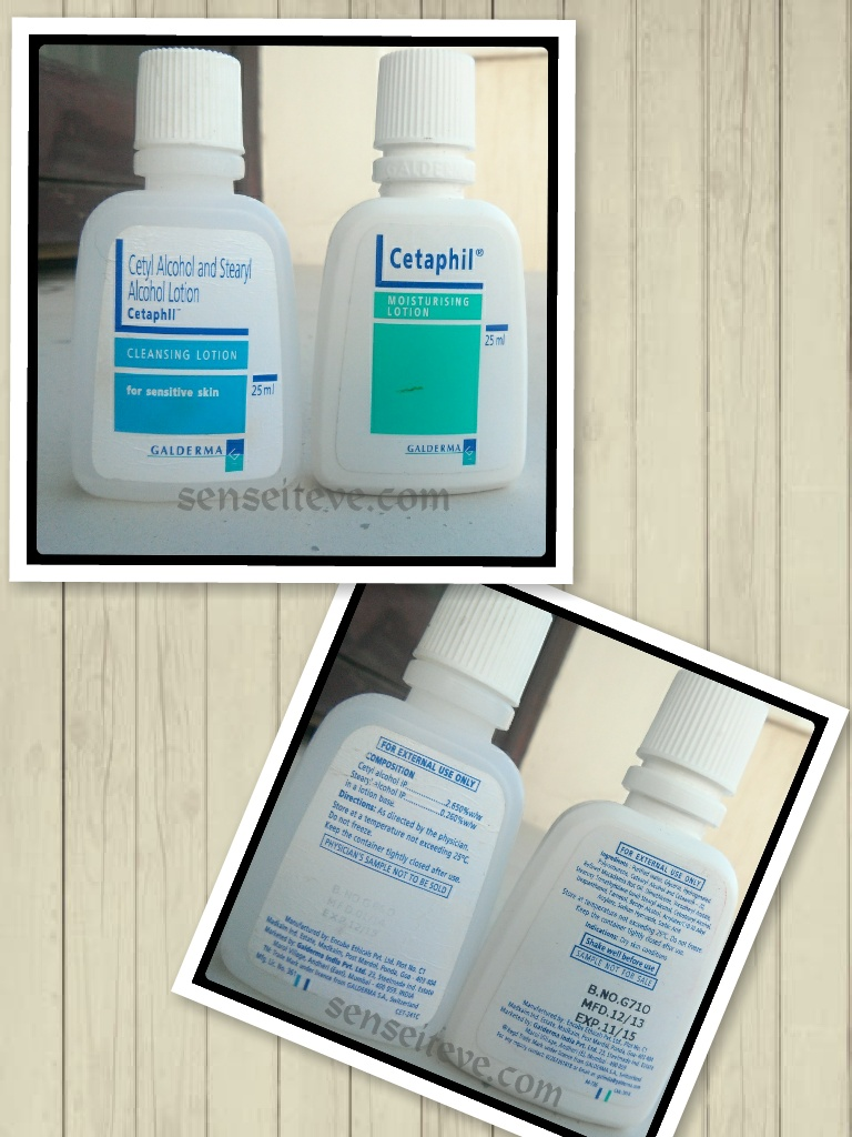 Cetaphil Cleansing Lotion and Moisturizing Lotion final