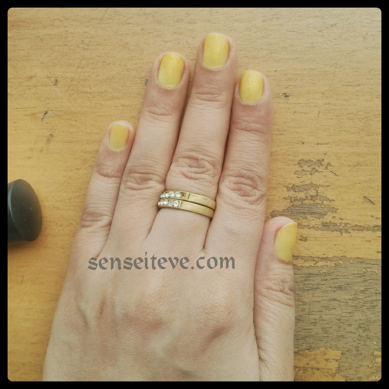 L.A. Girl Fruity Scented Nailpaint NOTD