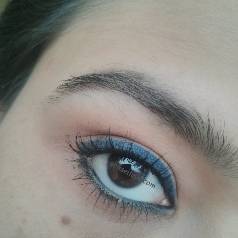 Oriflame Beauty Smooth Definer Swatches & Review_Grey, Blue & Green Grey & Blue EOTD