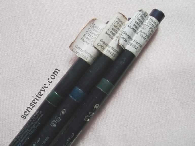 Oriflame Beauty Smooth Definer Swatches & Review_Grey, Blue & Green Packaging