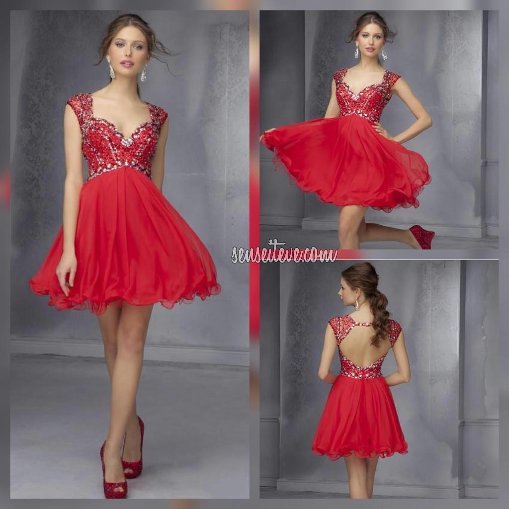 Red Prom Dress_Short