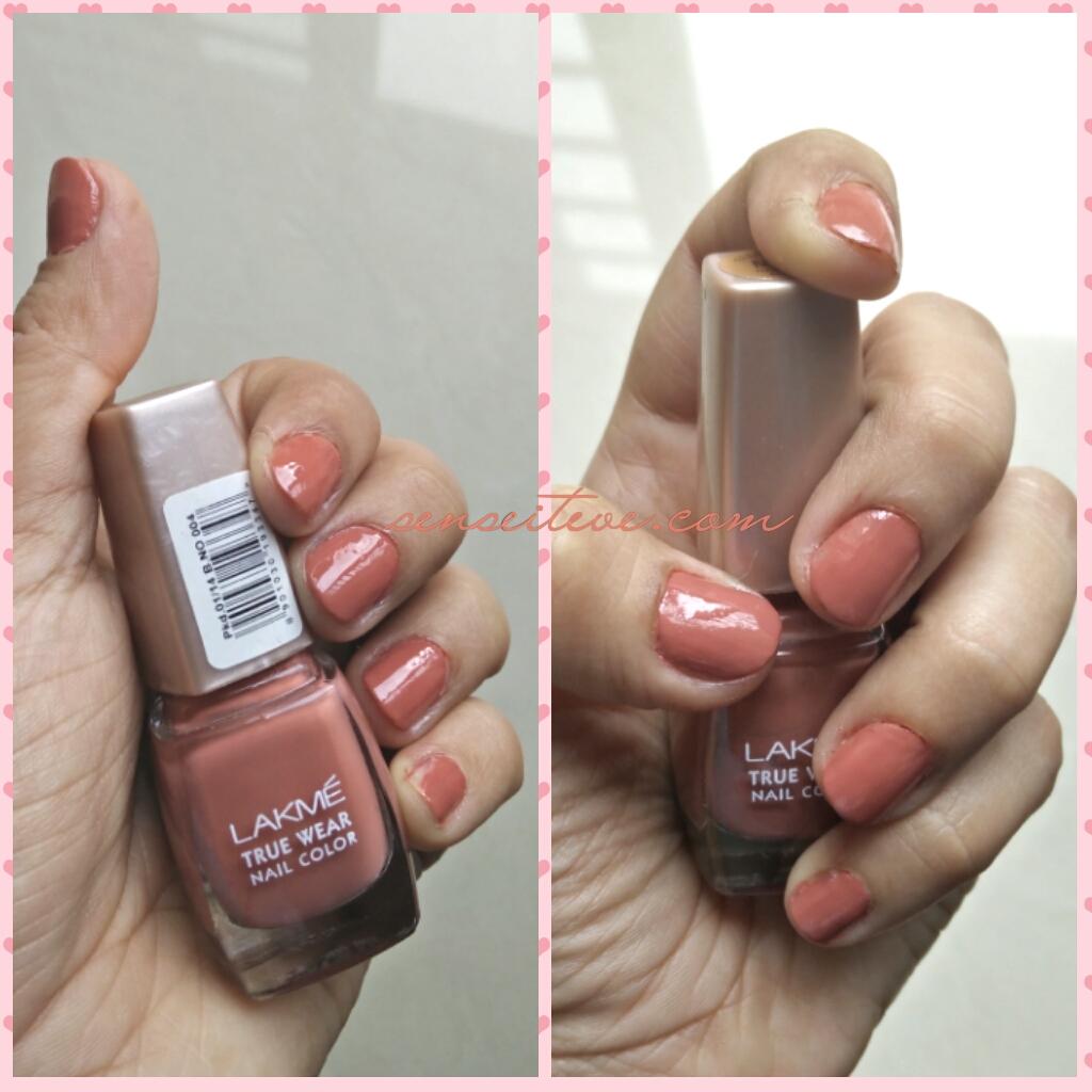 Lakme True Wear Nail Color Freespirit N237 Narendra Kumar NOTD