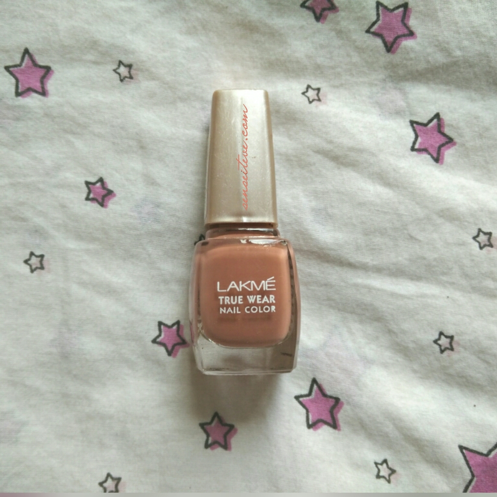 Lakme True Wear Nail Color Freespirit N237 Narendra Kumar Review, Swatches & NOTD