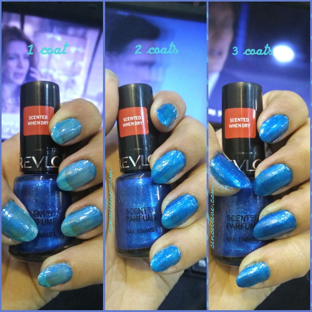 Revlon Scented Parfume Nail Enamel Mint Fizz Swatch