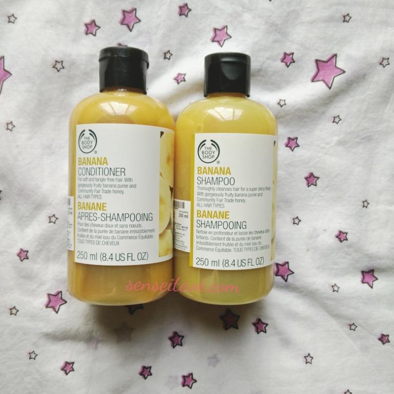 TBS Online Sale Shopping Haul_Banana Shampoo Conditioner