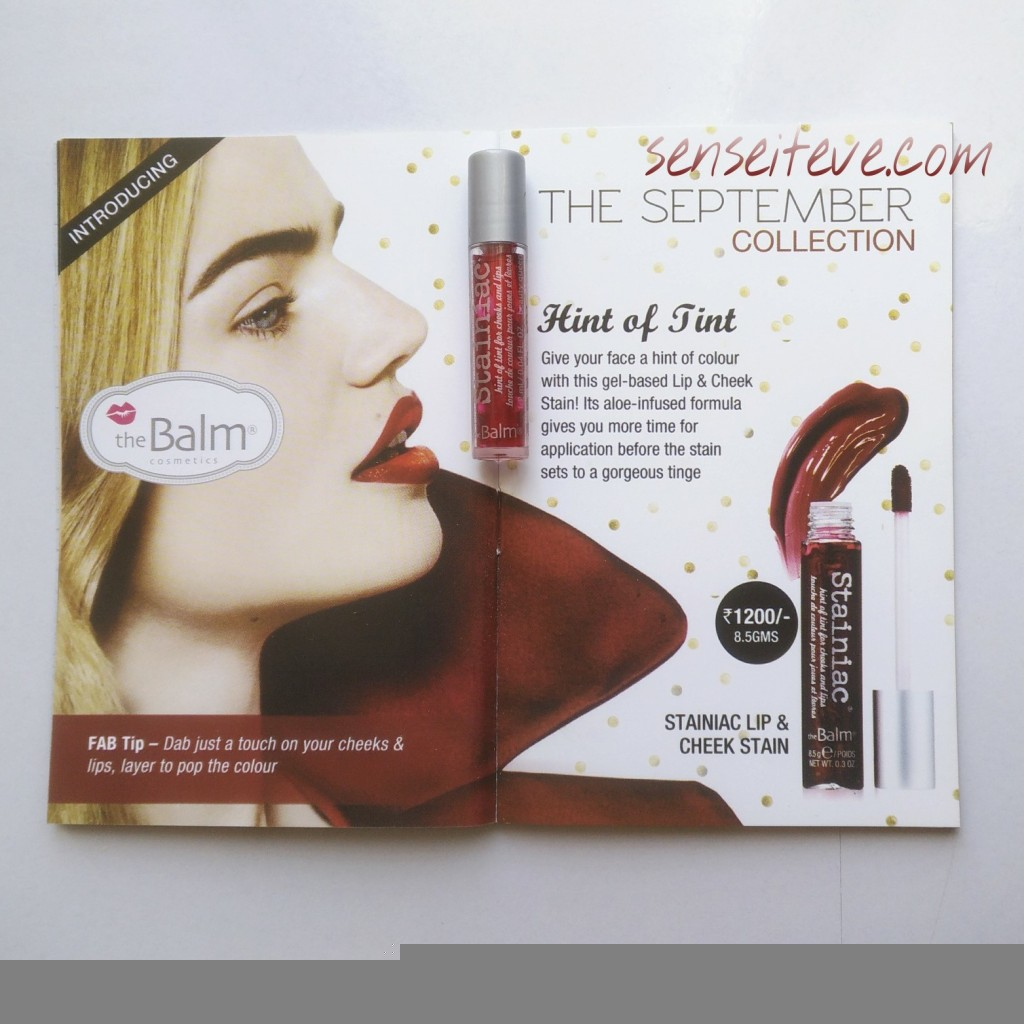 In My Fabbag_thebalm lip and cheek stain