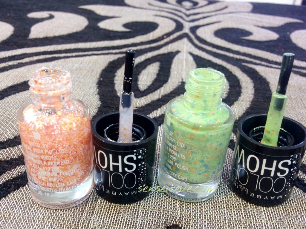 Maybelline Graffiti Nailpaints - Green Graffiti & Flower Power Packaging