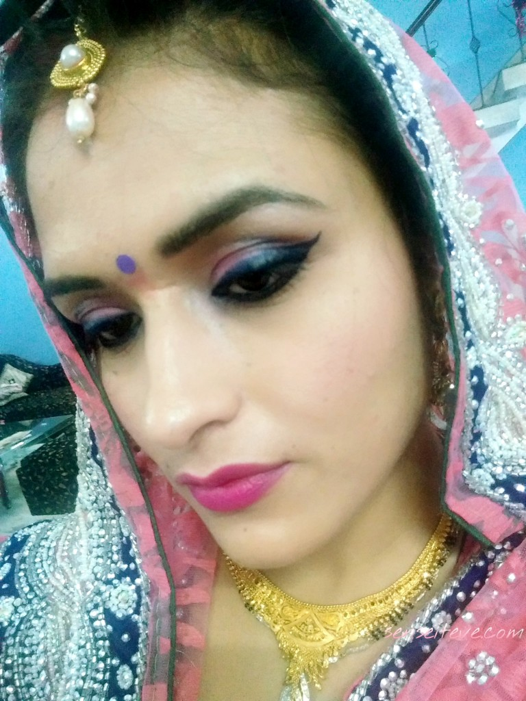 My Diwali 2015 Celebration Ootd_Makeup