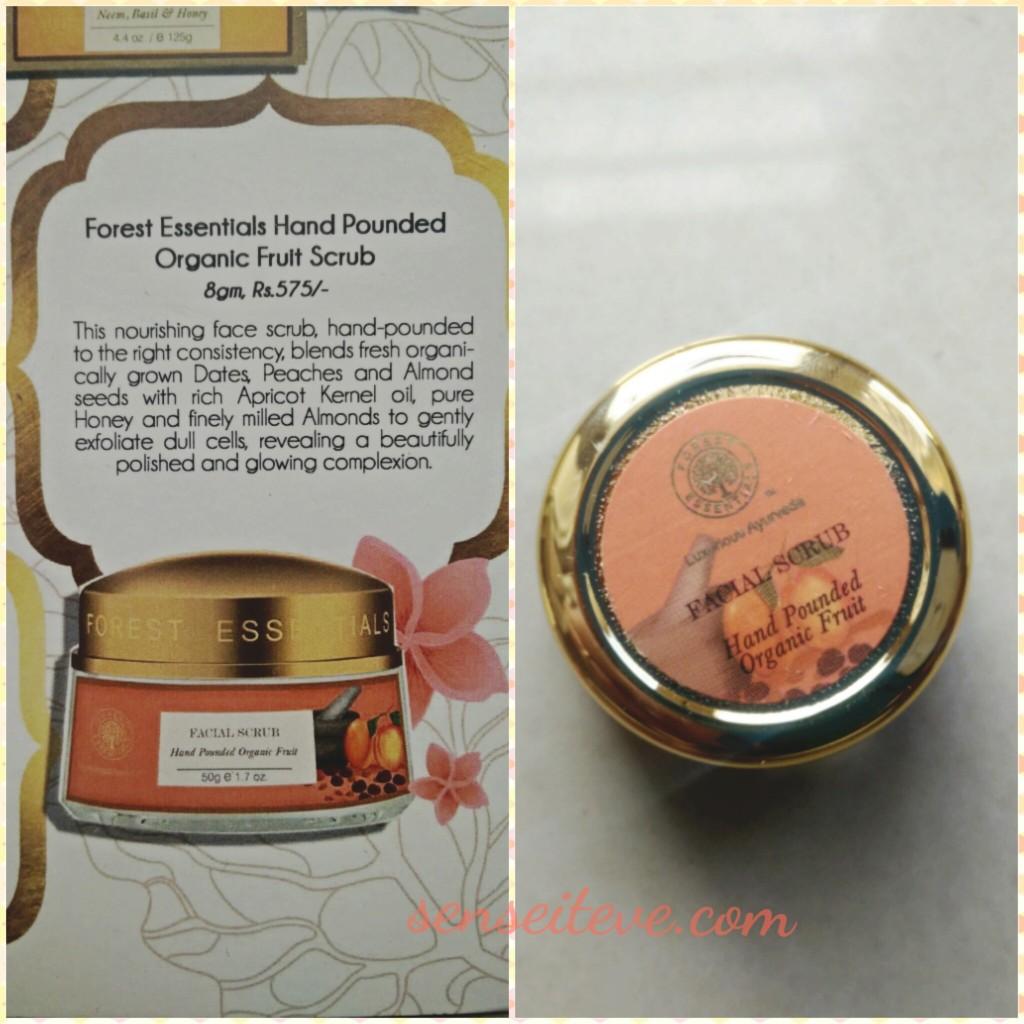 My Envy Box Feb16_Forest Essentials Hand Pounded Organic Fruit Scrub