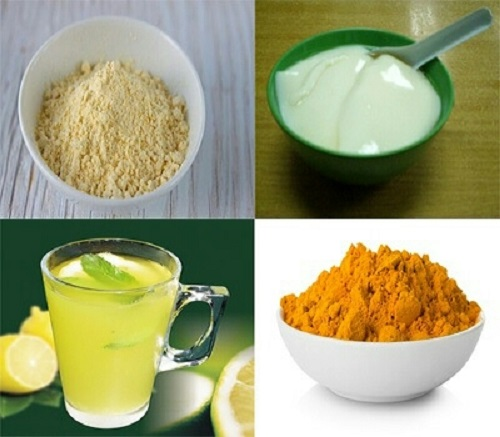 Reduce facial hair at home_Gram Flour Mask 2