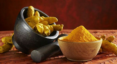 Reduce facial hair at home_Turmeric Mask