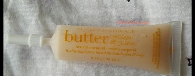 Cuccio Naturale Butter Blend Papaya & Guava