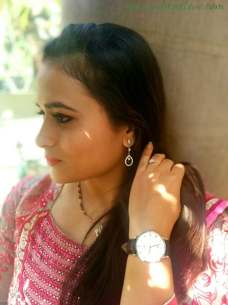 OOTD : Ethnic Ft. INCOCU Customizable Jewelry & Daniel Wellington