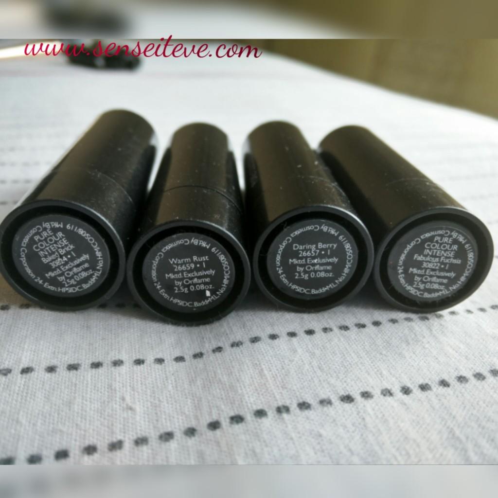 Oriflame Pure Color Intense Lipstick