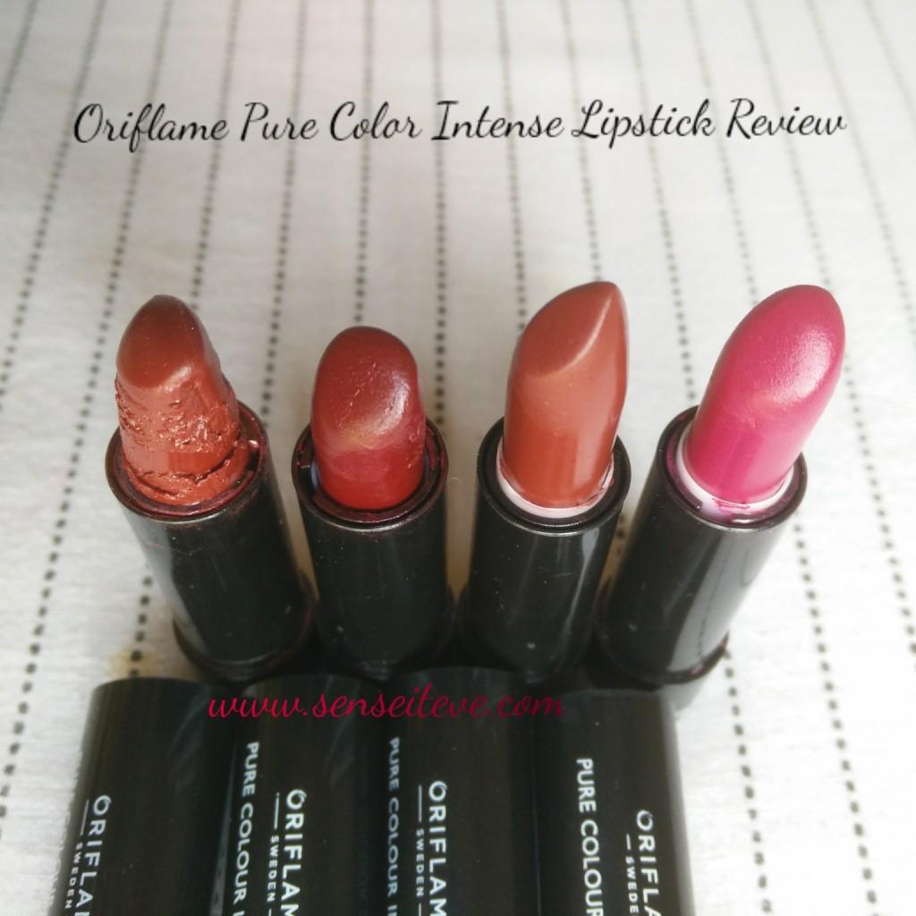 Oriflame Pure Color Intense Lipsticks