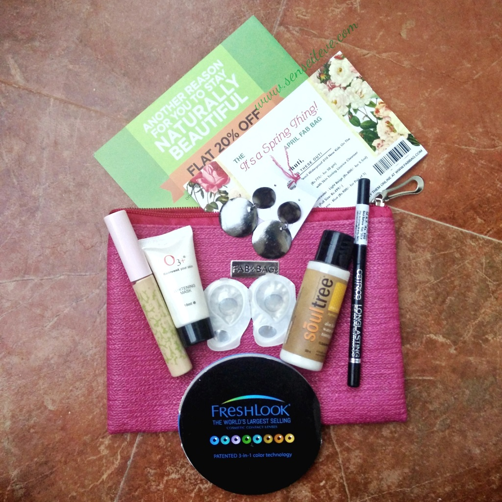 Fabbag April 2016 Review & Unboxing
