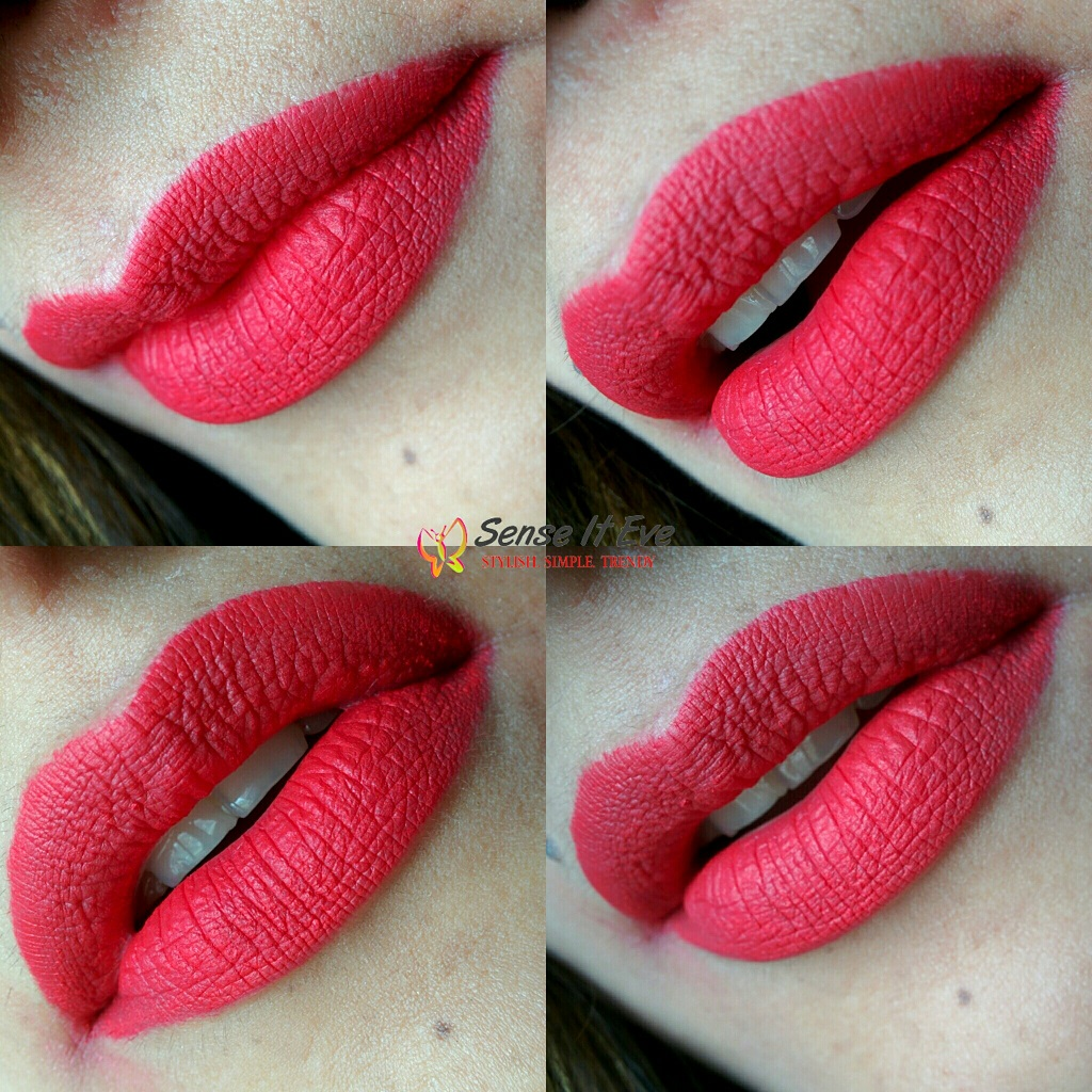NYX Soft Matte Lip Cream Amsterdam swatches