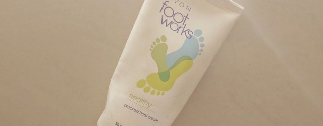 Avon Foot Works Cracked Heel Cream Review