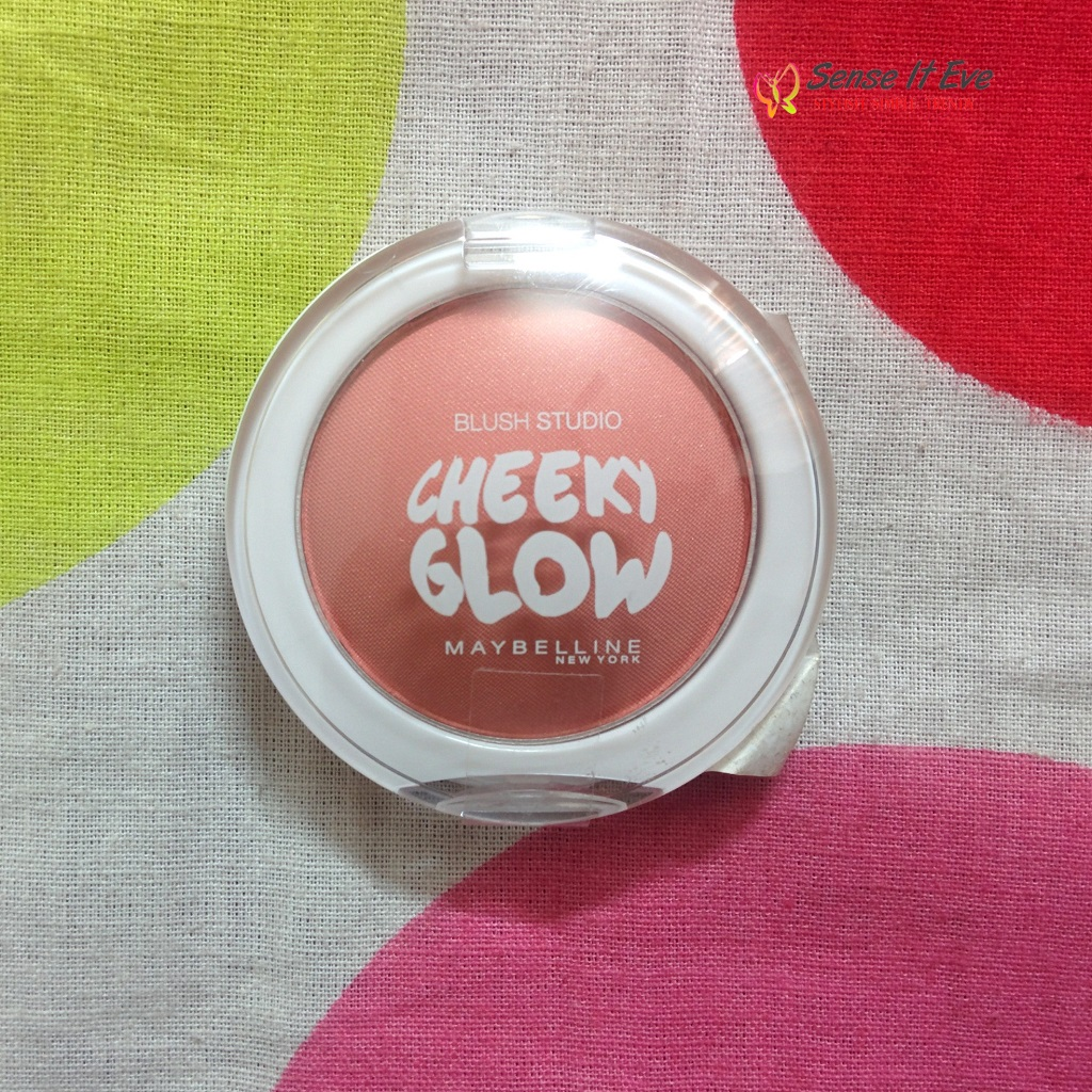 Maybelline Blush Studio Cheeky Glow Creamy Cinnamon : Review & Swatches