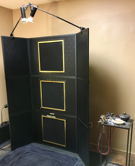 Airbrush Tanning Booth