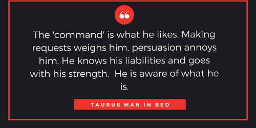 How to dating a taurus man