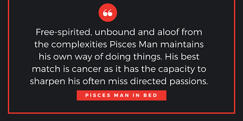 Pisces man in love