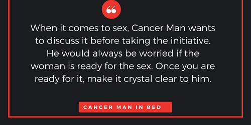 Cancer male sextrology