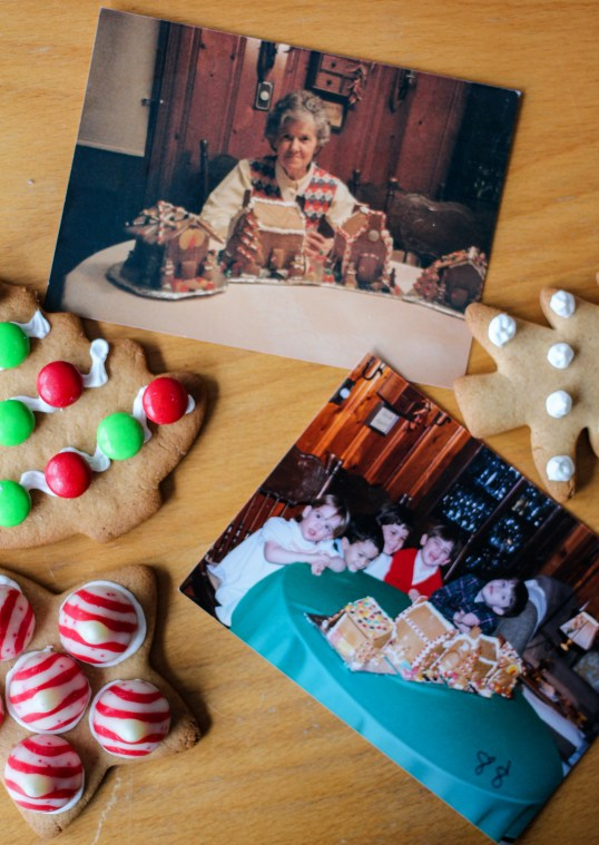 Neva Tee's Gingerbread Cookie House Recipe